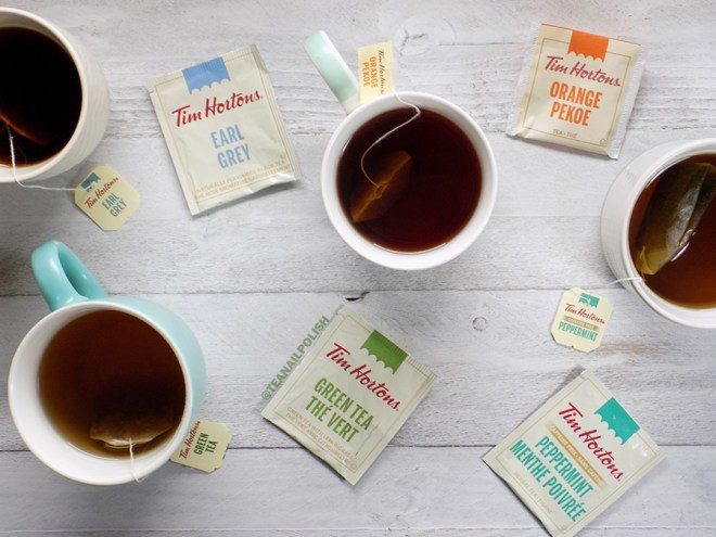 Tim Hortons Grocery Store Teas Review
