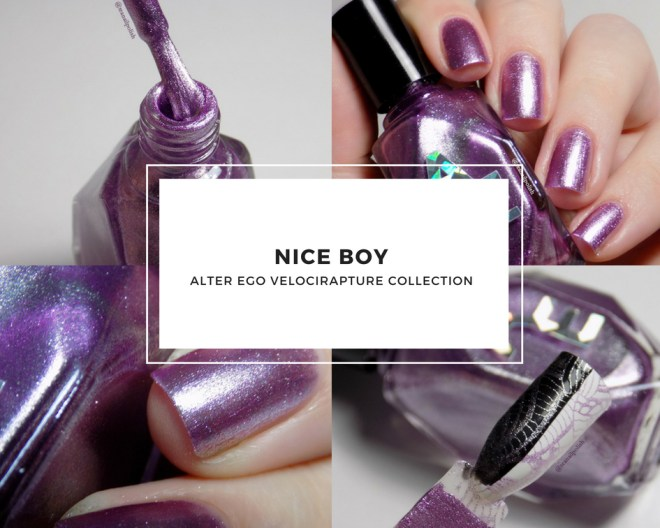 Alter Ego Nice Boy Swatches and Review
