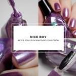 Alter Ego Nice Boy Swatches (Velocirapture Collection)