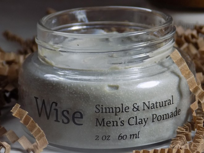 Wise Simple and Natural Mens Clay Pomade Review