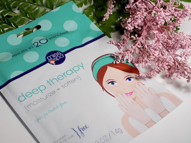 Miss Spa Deep Therapy Glove Hand Masks Review