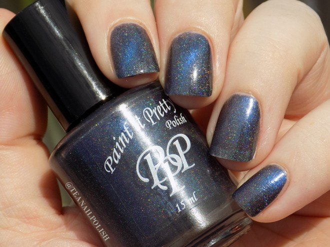 Paint It Pretty Force Field Swatches - Sunlight - 2 coats on ring finger