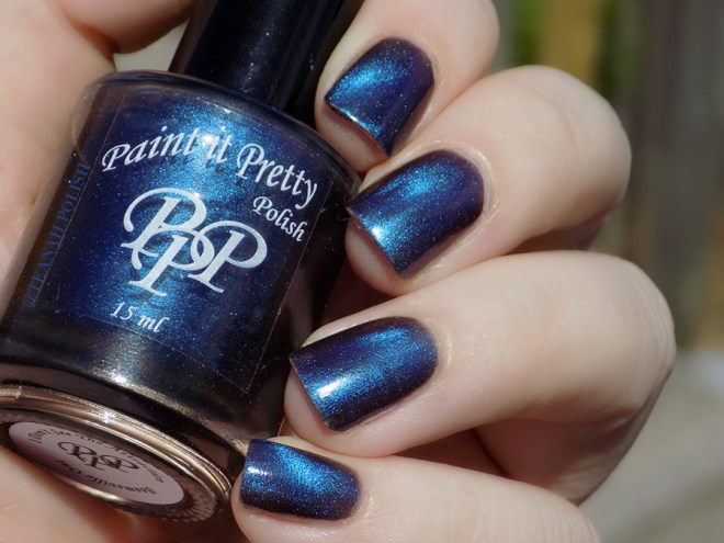 Paint It Pretty Polish - I Dont See The Attraction - Swatches in Sunlight