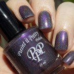 Paint It Pretty Polish - Magnetic Fields - Swatch in Sunlight