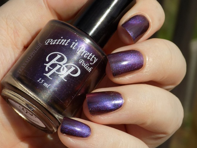 Paint it Pretty Polish Magnetic Moment - Swatch - Sunlight