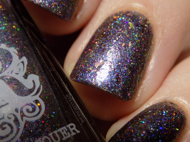 Rogue Lacquer Girly Bits Swatches - Macro