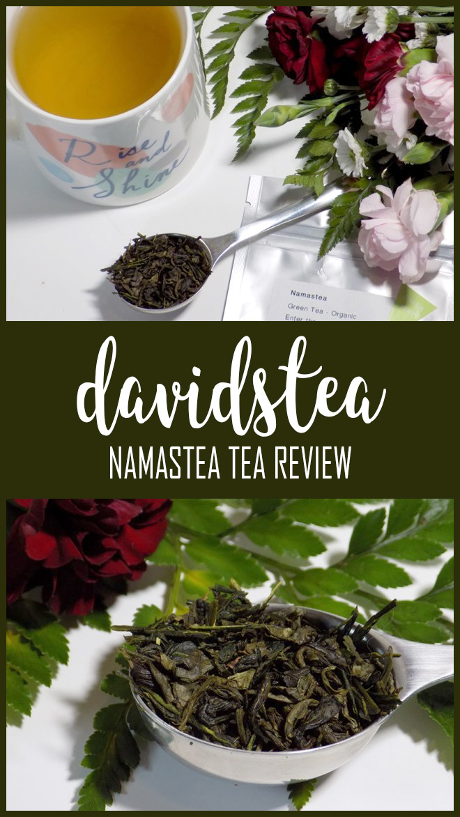 DAVIDsTEA Namastea Tea Review PIN