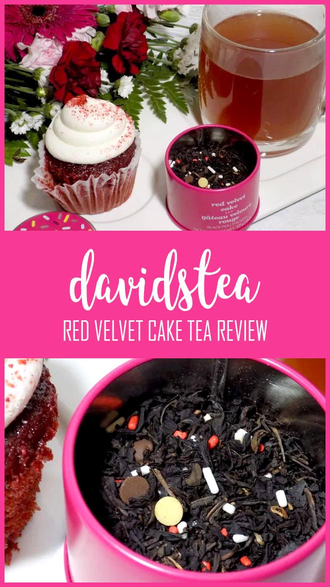 DAVIDsTEA Red Velvet Cake 2018 Throwback Tea Review on Pinterest