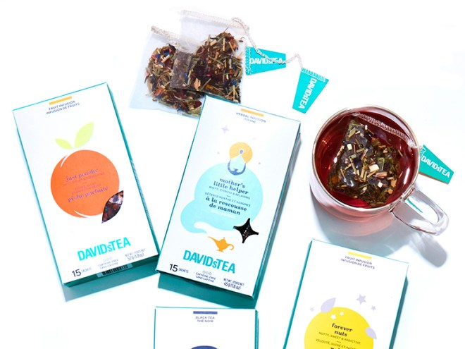 DAVIDsTEA at the Grocery Stores - Loblaws Partnership 2018