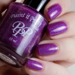 Paint it Pretty Polish Everything Is Better Purple - Artificial Light Swatches