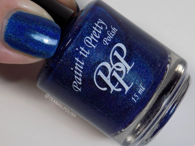 Paint it Pretty Polish Midnight Sparkle - Bottle Thumb