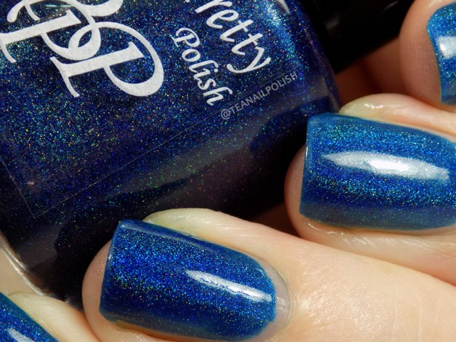 Paint it Pretty Polish Midnight Sparkle - Closeup