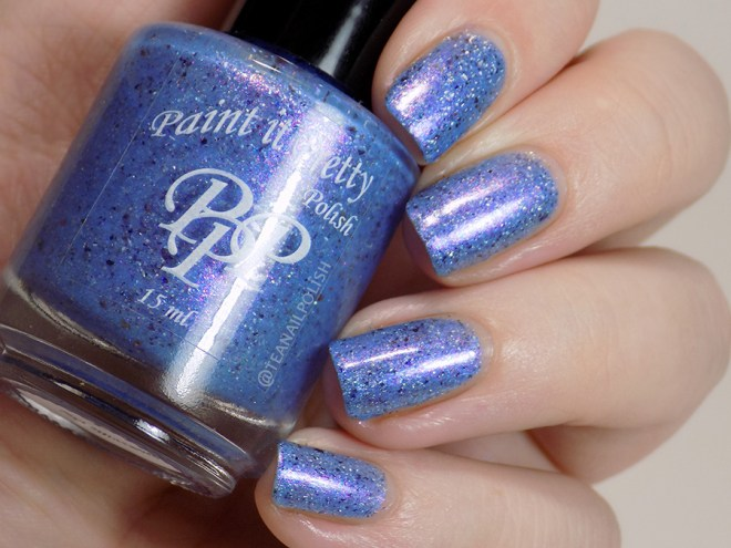 Paint it Pretty Polish Was Summer A Dream - Sept 2018 Swatches Artificial Light