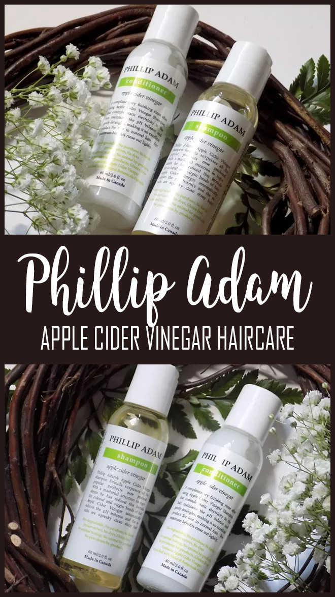 Philip Adams Apple Cider Vinegar Haircare Review PIN