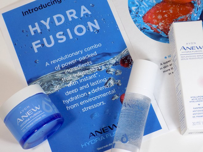 Avon Anew Hydra Fusion Gel Cream and Serum Review