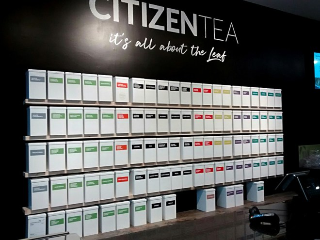 Citizen Tea Mapleview Mall Store Review - Loose Tea Prices