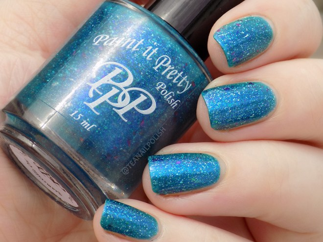 Paint it Pretty Polish Fish are Friends Not Food - Cloudy Swatch