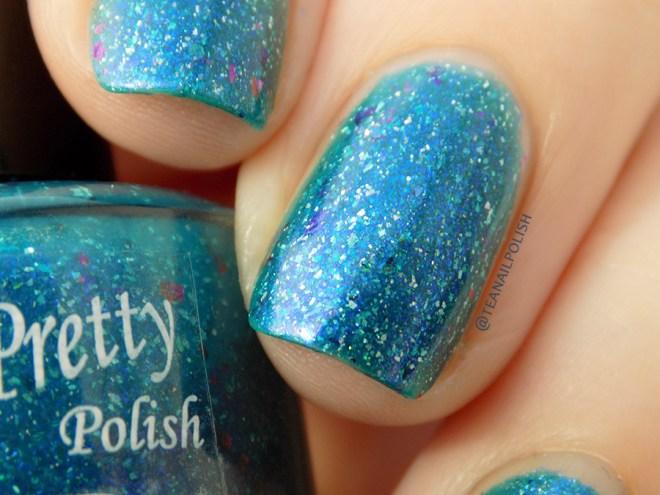 Paint it Pretty Polish Fish are Friends Not Food - Shade Closeup