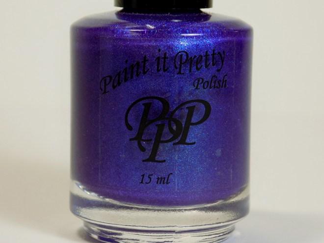 Paint it Pretty Purple Thunder Holo Polish - Bottle
