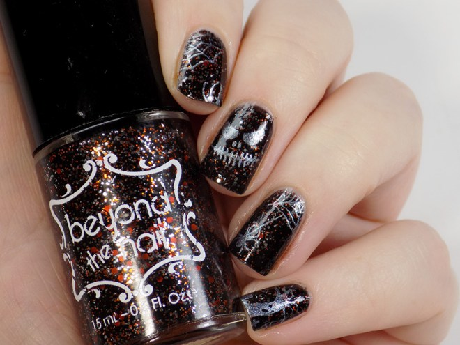 Beyond the Nail Hallo-Scream Halloween Nail Art