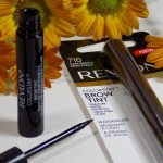 Revlon Colorstay Brow Tint in Soft Black and Dark Brown Review