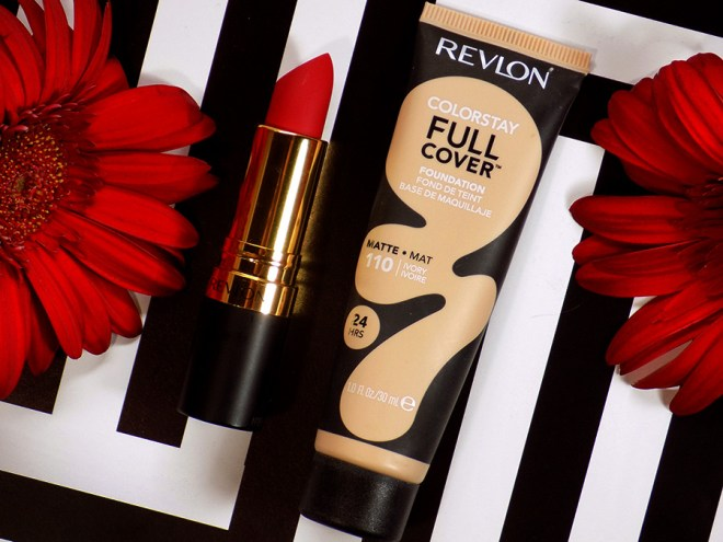 Revlon Colorstay Full Cover Foundation Ivory 110 Swatches and Review