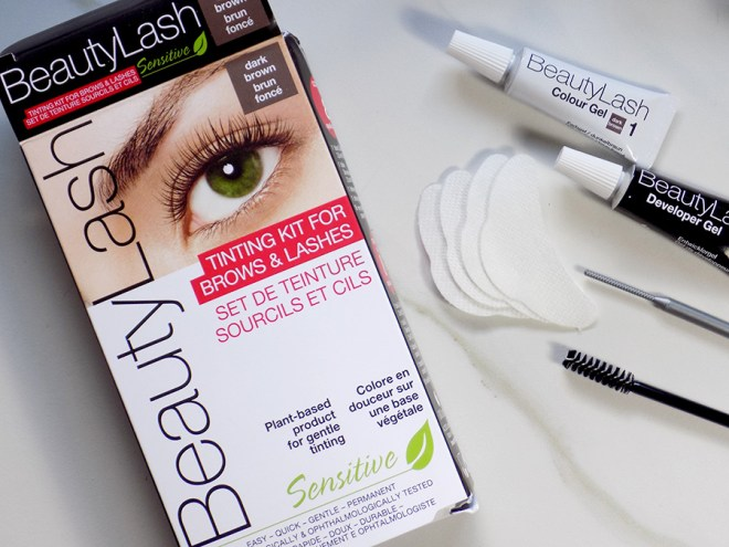 BeautyLash Sensitive Lash and Brow Tinting Kit Review