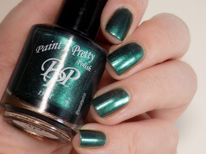 Paint it Pretty Polish Candy to my Cane - Metallic Holiday Collection 2018