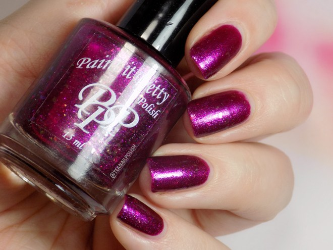 Paint it Pretty Polish Glamour and Glitz - December 2018 POTM - Swatch