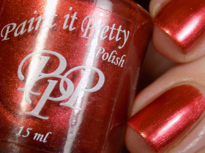 Paint it Pretty Polish Holly to my Jolly -- Metallic Holiday Collection 2018