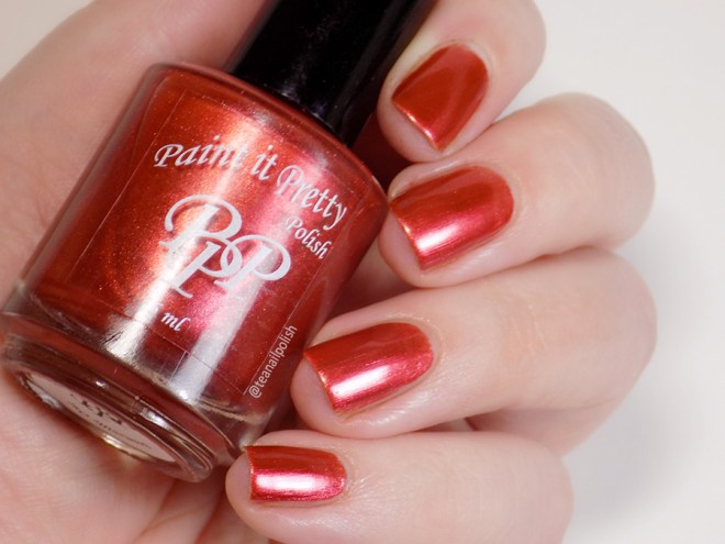 Paint it Pretty Polish Holly to my Jolly - Metallic Holiday Collection 2018