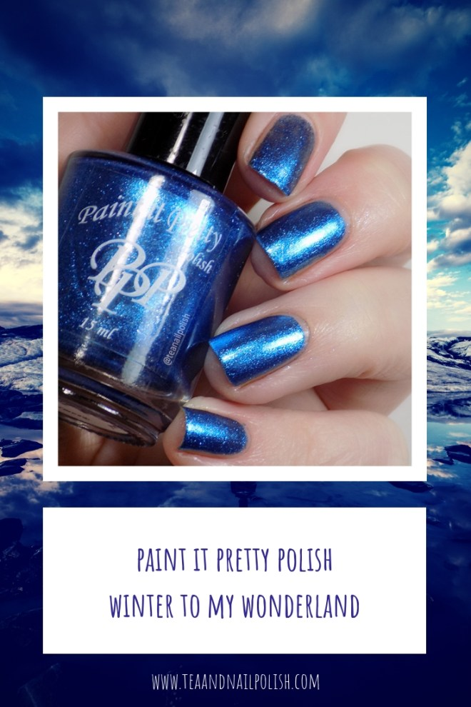 Paint it Pretty Polish Winter to my Wonderland -- Metallic Holiday Collection 2018 - Pinterest