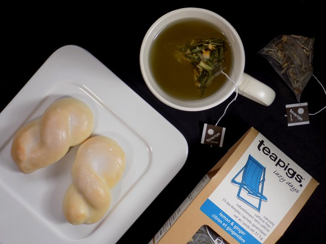 TeaPigs Lemon Ginger Tea Review - Lazy Days Review