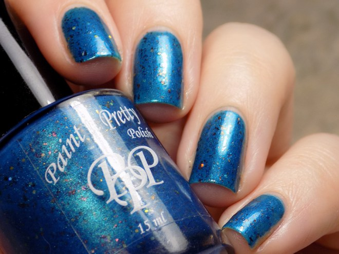 Paint it Pretty Polish PPU I Am The Only One Of My Kind Swatches 4