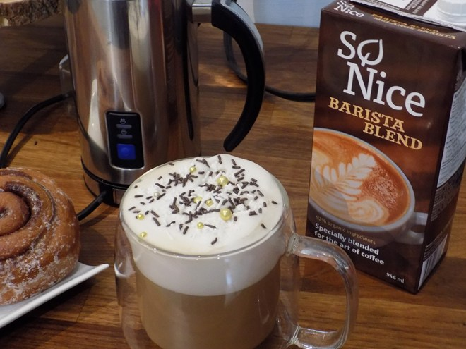 So Nice Barista Blend Non Dairy Alternative for Tea Lattes