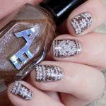 Sweater Nails with Alter Ego Clever Girl Swatch