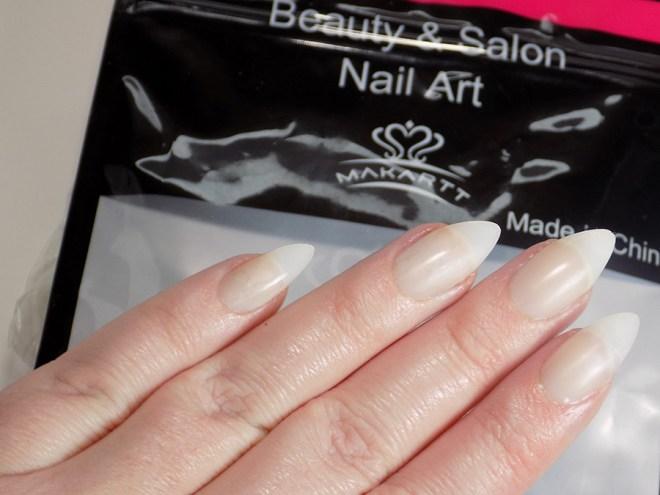 Makartt Stiletto Nail Tips from Amazon Review