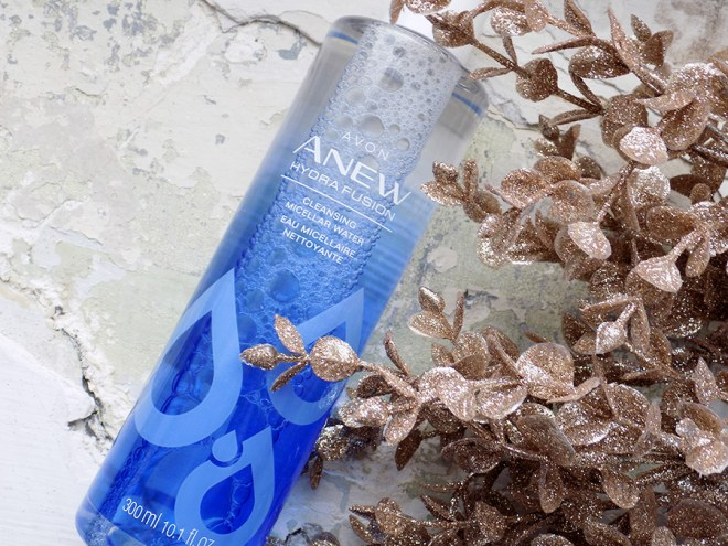 Avon ANEW Hydra Fusion Cleansing Micellar Water Review