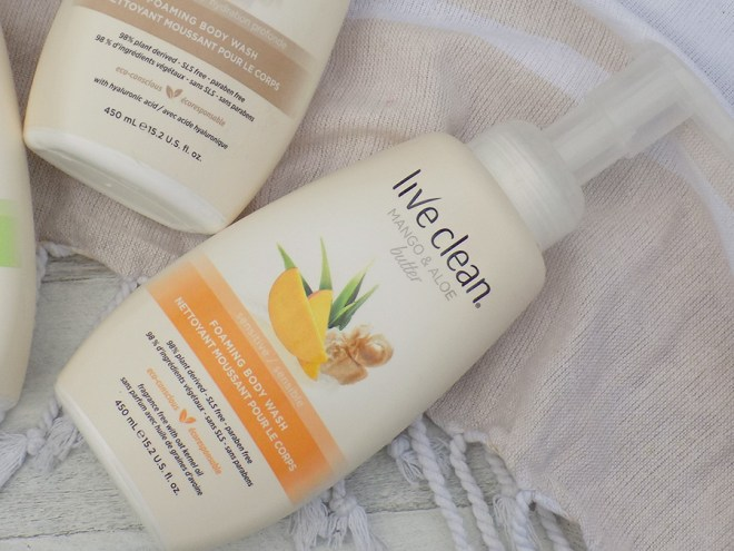 Live Clean Foaming Body Wash Mango and Aloe Butter Reviews