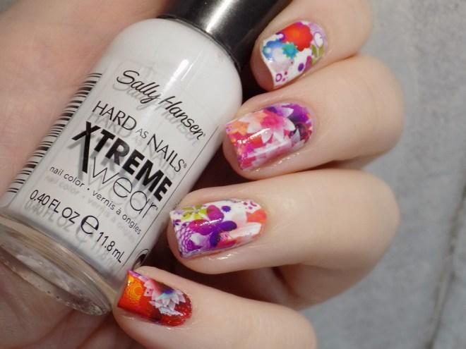 BZ016 Floral Nails CBBxManiMonday