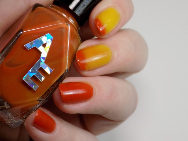 Alter Ego Magical Amber Polish Pickup September 2019 - Warm to Cold Thermal Polish Transition
