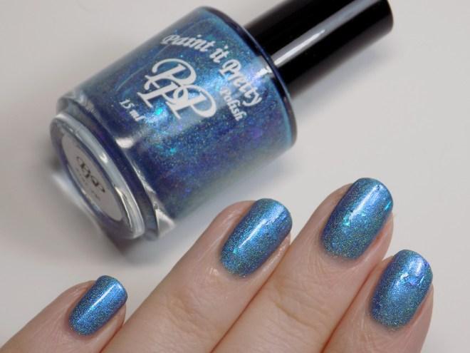 Paint it Pretty IEC Blue Jays Way - bottle swatch
