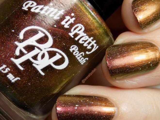 Paint it Pretty Polish - I Laugh In The Face Of Danger - Swatch Closeup