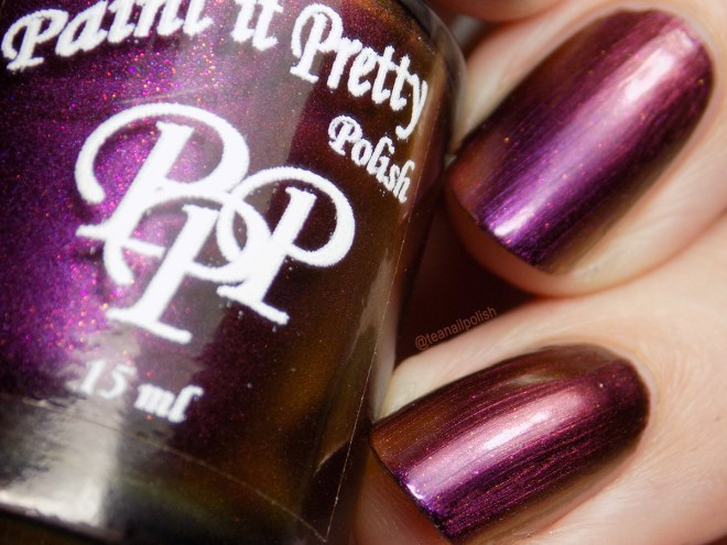 Paint it Pretty Polish - You Gotta Put Your Behind In The Past - Swatch Closeup