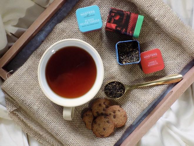 Adagio Masters Tea Review - Anhui Keemun - Fujian Silver Needle - Hsinchu Oriental Beauty