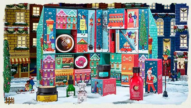 The Body Shop Advent Calendars 2019 - The Body Shop Dream Big This Christmas Ultimate Advent Calendar Canada