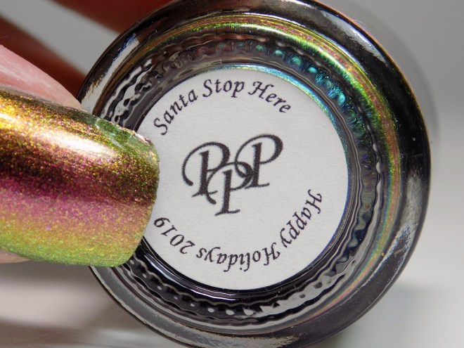 Paint it Pretty Polish Santa Stop Here Swatches 6