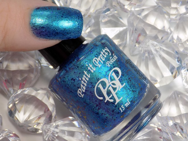 Paint it Pretty Repel Negativity Swatches - Dec 2019 Polish of the Month - 2