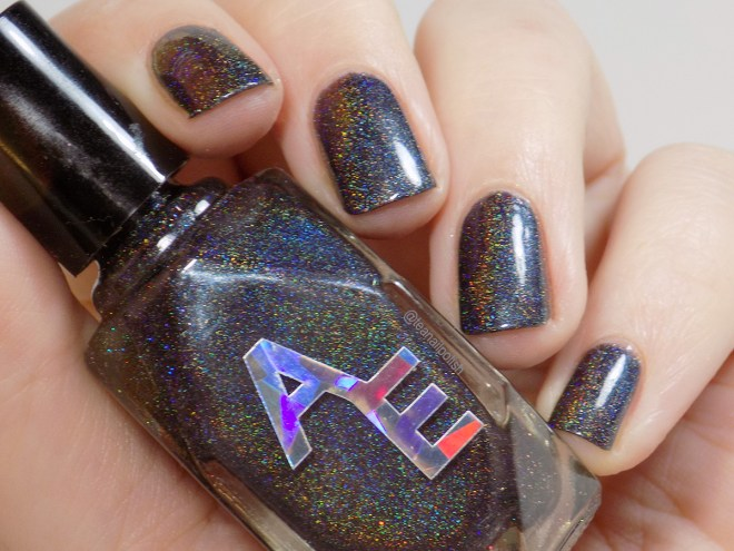 Alter Ego Beating The Cancer Blues Swatches 2 - Laura Callahan Hazard