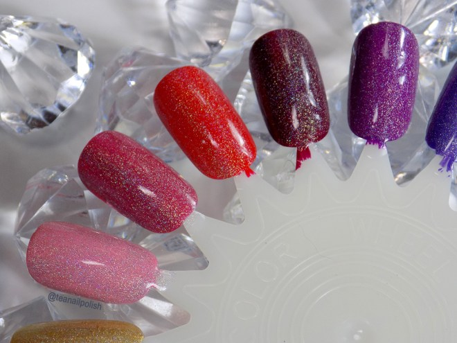 Alter Ego Whats Your Sign holo topper swatches 1